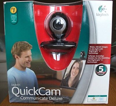 logitech Quickcam Communicate Deluxe webcam new boxed