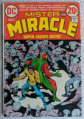 DC Comics • Jack Kirby • Mister Miracle • No. 15 • 1973 • FN Fine • Mr. Miracle