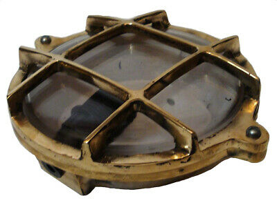 Marine BRASS BOAT DECK Light - Little - Maritime / Nautical  -100% SATISFACTION