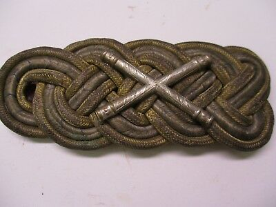 Original German Imperial Bavarian Field Marshall Shoulder Board