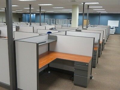 Work Stations For 6 People Herman Miller