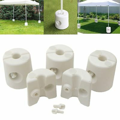 Gazebo Leg Foot Support Weight Marquee Tent Stall Patio Water Sand 2/4/6/8/10/12