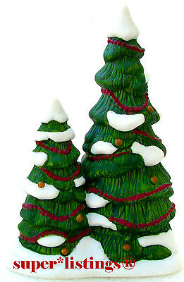 Dept. 56 Christmas Carol Holiday Porcelain Double-Tree Decorated Dickens 58319