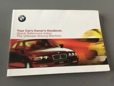 bmw owners manual book pack bmw e46 3 series saloon facelift 12 rh picclick co uk 2000 bmw 323i service manual download 2000 bmw 323i service manual