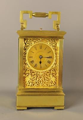 Westminster Quarter Chiming Repeating Carriage Clock