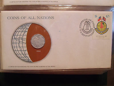 Coins of All Nations Chile 10 centavos 1979 UNC