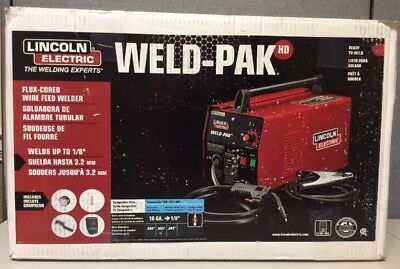 New Lincoln Electric Weld-Pak K2188-1 Flux-Cored Wire Feed Welder