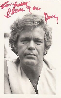 DOUG McCLURE HAND SIGNED PHOTO FILM TV ACTOR WESTERNS