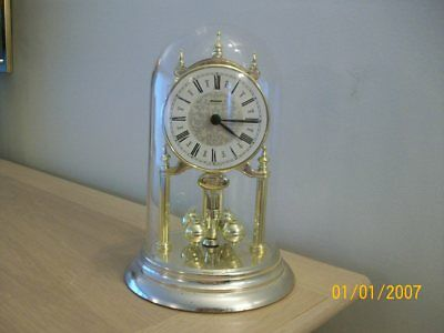 A Vintage Anniversary Clock   Quartz Working Made In West  Germany By Staiger