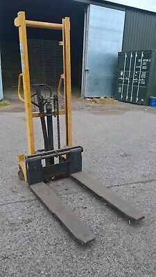 Manual High Lift Hand Hydraulic Pallet Truck Forklift