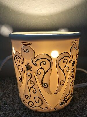 Scentsy Heavenly Angels Full Size Retired Wax Melter Warmer BASE ONLY