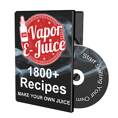 1800 Vape e Juice e Liquid Recipes Make Your Own eJuice For A Few Cents