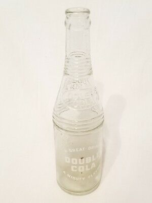 Vintage RARE Double Cola Bottle 12oz Tullahoma Tennessee TN Tenn Soda
