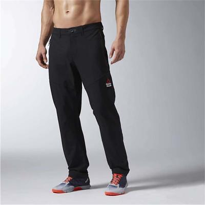 NEW Reebok Men's Clothing CrossFit Woven Pants AX8906 100% AUTHENTIC
