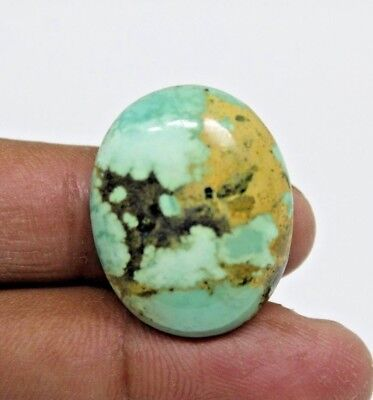 35.70 Cts NATURAL GENUINE TURQUISE CABOCHON OVAL SHAPE LOOSE GEMSTONES