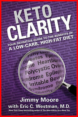 Keto Clarity : Your Definitive Guide to the Benefits / Digital Delivery / Eb00k