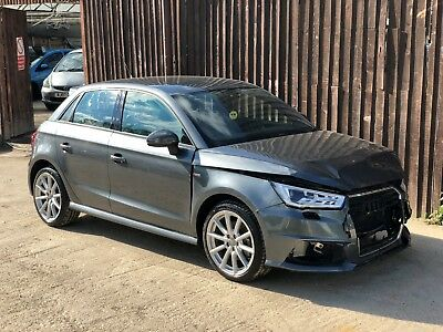 2017 67 AUDI A1 S Line 1 4 Tfsi 5 Door Unrecorded Damaged Salvage Repairable