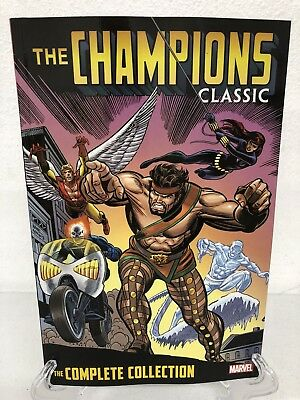 The Champions Classic Complete Collection Marvel Comics New TPB Trade Paperback