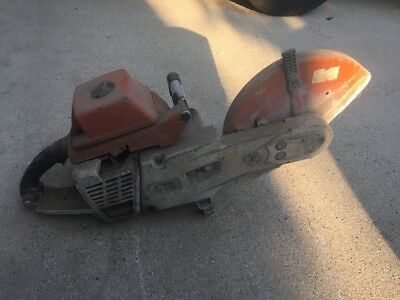 Stihl TS510 Concrete Cut Off Saw. No RESERVE. As Is, Needs Work