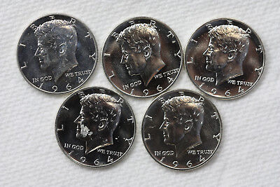 One roll of 20 1964 Proof Kennedy Half Dollars 90% silver