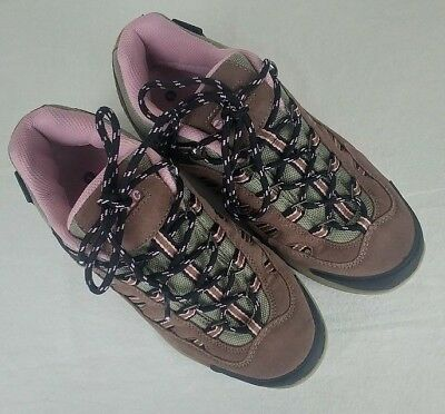 64cfc0caae5 Hi-Tec Bandera Low Women's Shoes Size 9.5 Waterproof Lace Up Purple Pink  Hiking