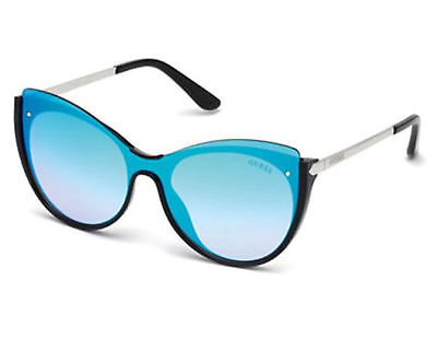 GUESS Women/'s Drama Square Sunglasses GGU1117 $98 NEW