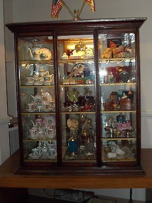 Antique 1800's Hatters Case ~ Display Cabinet ~ Haberdasher's Cabinet