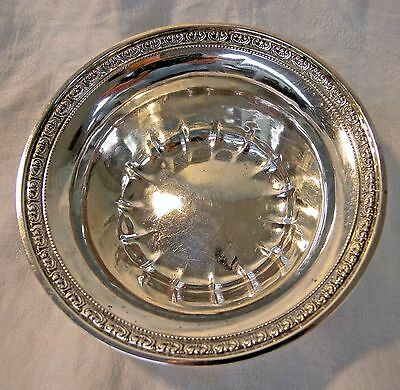 Vintage Sterling Silver Dish Bowl #1852C Becht & Hartl New Jersey 64g