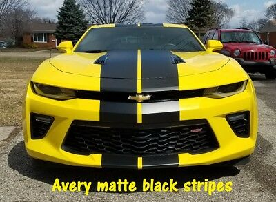 Chevy Corvette 10 inch Racing Stripe Vinyl Graphic Color Decal Sticker  36 Feet