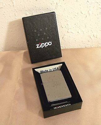 2007 Zippo Windproof Lighter New in Box 150 Black Ice No Logo