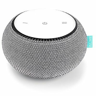 SNOOZ White Noise Sound Machine - Real Fan Inside, Control via iOS and Android -