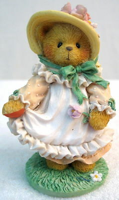 """1994-Cherished Teddies-Hope-""""Our Love is Ever-blooming""""-Enesco-#103764-No Box"""