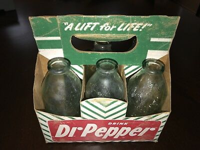 DR. PEPPER 6 pack GRENADE BOTTLES with Green Carton 10 2 4