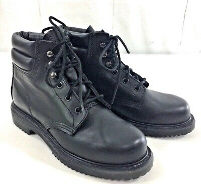 Men's RED WING Super Sole Oil Resistant Work Boots Size 6.5 B Black 40111 EUC