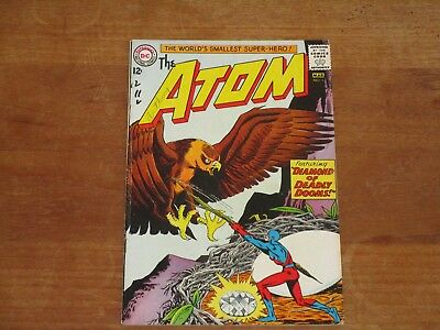 The Atom #5 Dc Silver Age Higher Grade Gil Kane & Anderson Art Check My Store!!