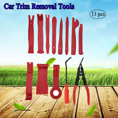 13 Pcs Car Auto Body Door Panel Console Dashboard Trim Removal Plastic Tools Kit