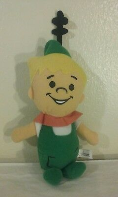 "The Jetsons Elroy Toy Factory Hanna Barbera 11"" Stuffed Plush Doll cartoon retro"