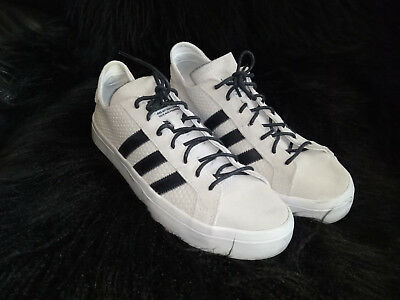 Adidas Taupe/ Black Suede Sneakers Shoes UK 6.5/ EU 40/ US 8