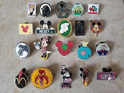 Pin Trading Disney Pins Lot of 20 As Pictured Mickey Minnie Girl Princess Eeyore