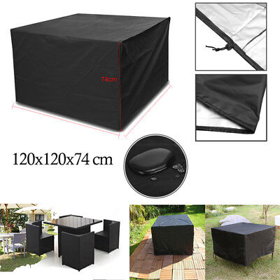 Garden Patio Furniture Set Cover Waterproof Covers Rattan Table Cube In/Outdoor