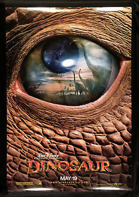 "Dinosaur (2000) Advance Original Rolled Movie Poster 2-Sided 27"" X 40"""
