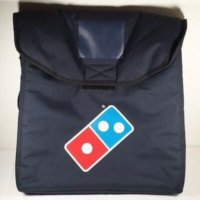 "Dominos Insulated Heat Thermal Pizza Delivery Carry Bag Large 18"" x 21"""