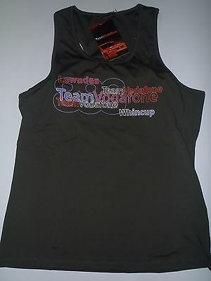 Ladies V8 Supercars Singlet Top, Size 16, Lowndes Wincup, New With Tags!