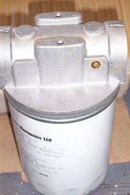 New Applied Hydro Mechanics Cs100 10 Filter And Housing 1.50 Inch Inlet & Outlet