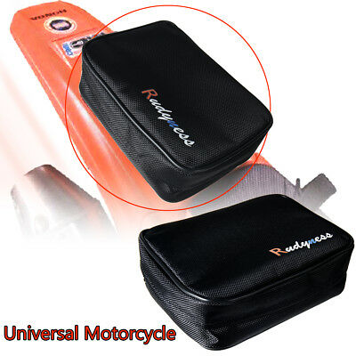 Black Fender Pack Tool Bag For ATV KTM CRF Dirt Bike Enduro&Universal Motorcycle
