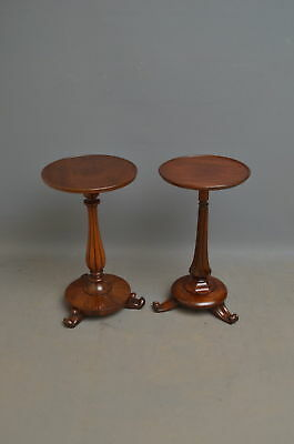 Matched Pair of William IV Mahogany Coffee Tables