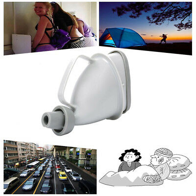 Portable Unisex Car Handle Urine Bottle Urinal Funnel Tube Urination Toilet DG