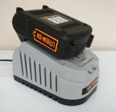 18v X-POWER 2ah lithium battery for Triton tools + fast charger +13p drill bits