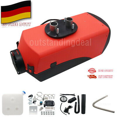 5KW 12V Air diesel Fuel Heater Planar LCD Hole Car Bus Trucks Motor-Homes Boats