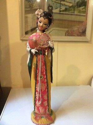 Large Collectable Twainese Chinese Antique Vintage Doll Lady